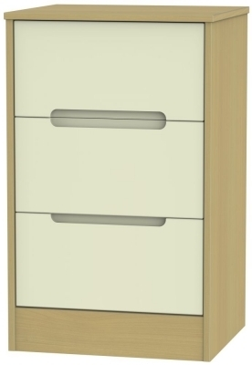 Cream Front and Elm Base Unit