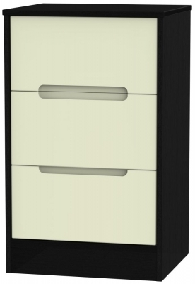 Cream Front and Black Base Unit