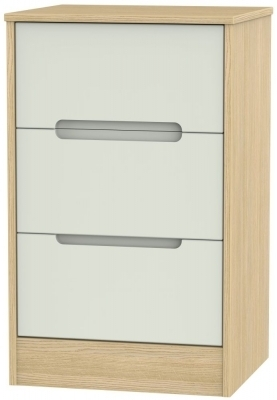 Kaschmir Front and Light Oak Base Unit