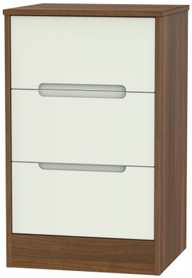 Kaschmir Front and Noche Walnut Base Unit