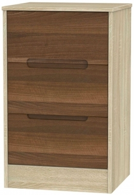 Noche Walnut Front and Bardolino Base Unit