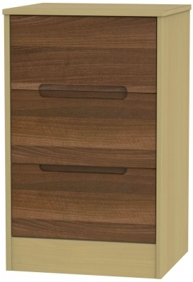 Noche Walnut Front and Elm Base Unit