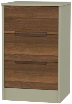 Noche Walnut Front and Mushroom Base Unit