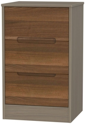 Noche Walnut Front and Toronto Walnut Base Unit