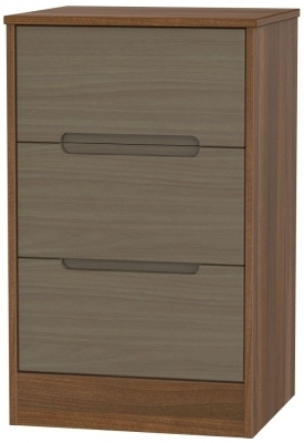 Toronto Walnut Front and Noche Walnut Base Unit