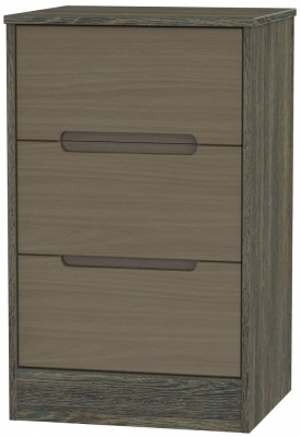 Toronto Walnut Front and Panga Base Unit
