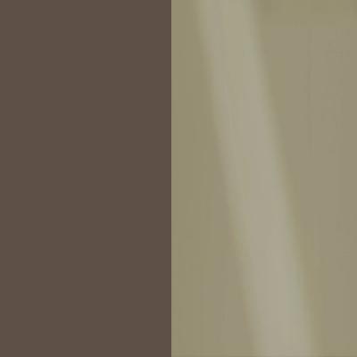 Havanna Frame with Faux Leather Pebble Grey Headboard Cushion 315