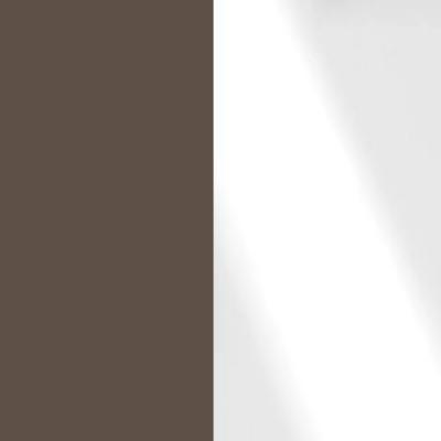 Havanna Frame with Faux Leather White Headboard Cushion 315