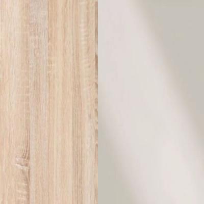 Rustic Oak Frame with Faux Leather Magnolia Headboard Cushion 313