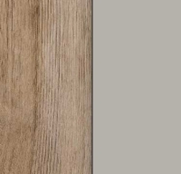 Rauch Celle Sanremo Oak Light Carcase with High Polish Soft Grey Front AM401