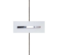 Rauch Quadra Alpine White Carcase and Front with Aluminium Color Handle No1 A970B