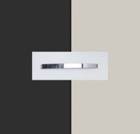 Rauch Quadra Metallic Grey Carcase with Silk Grey Front and Chrome Color Handle No1 AA06D