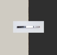 Rauch Quadra Silk Grey Carcase with Metallic Grey Front and Chrome Color Handle No1 AA28D