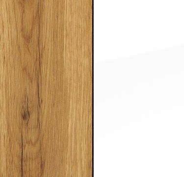 Wotan Oak Carcase and Alpine White Front AA026