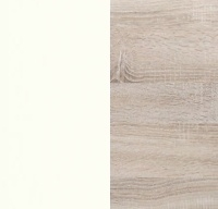 White with Rustic Oak 064