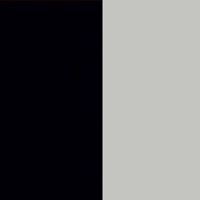 ZA144 : Matt Black with Silk Grey Front