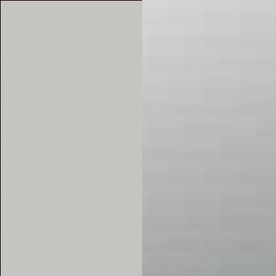 ZA600 : Matt Silk Grey with Crystal Mirror Front