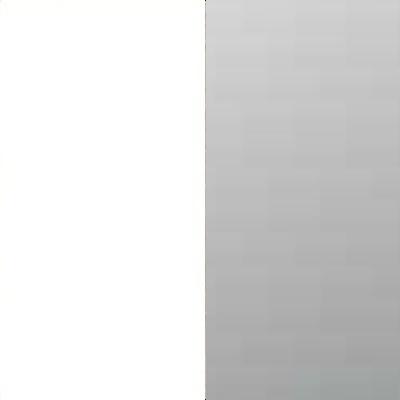 ZA111 : Matt White with Grey Mirror Front