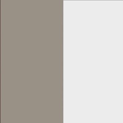 ZA515 : Matt Fango with Crystal White Glass Front