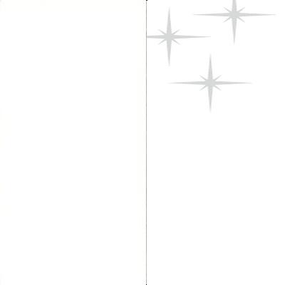 ZA135 : Matt White with High Gloss White Front