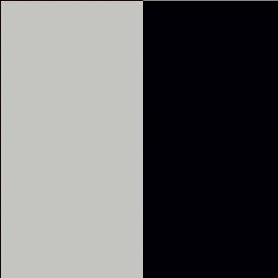 ZA617 : Matt Silk Grey with Matt Black Glass Front