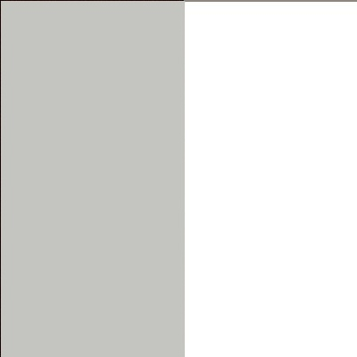 ZA591 : Matt Silk Grey with White Front