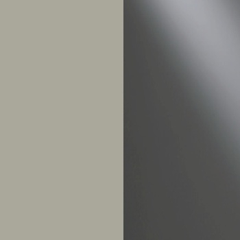 356 : Pebble Grey with Havana Glass Front