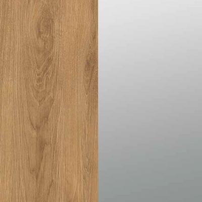 ZA471 : Natural Royal Oak with Grey Mirror Front