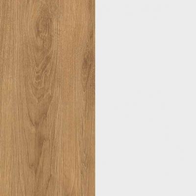 ZA475 : Natural Royal Oak with Crystal White Front
