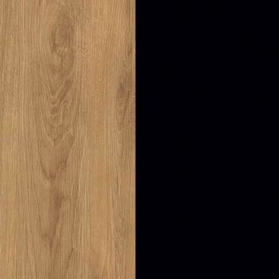 ZA477 : Natural Royal Oak with Black Front