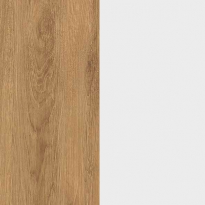 ZA485 : Natural Royal Oak with Crystal White Front