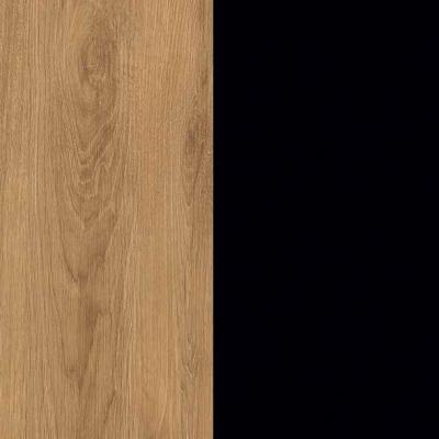 ZA487 : Natural Royal Oak with Black Front