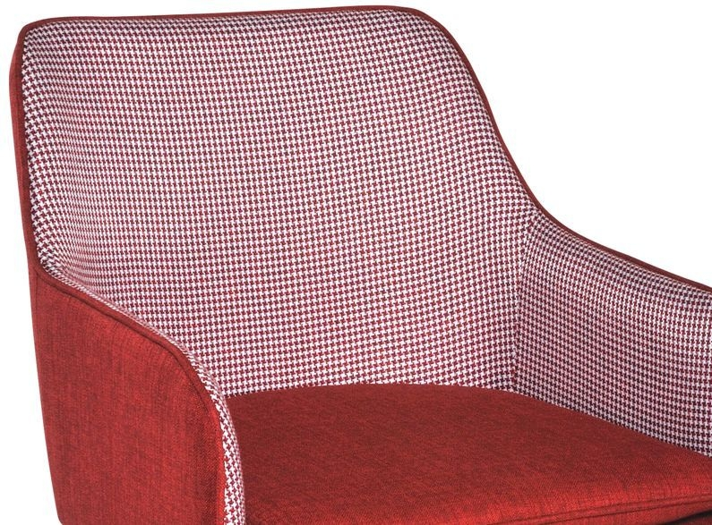 Rowico Louise Fabric Chair - Red