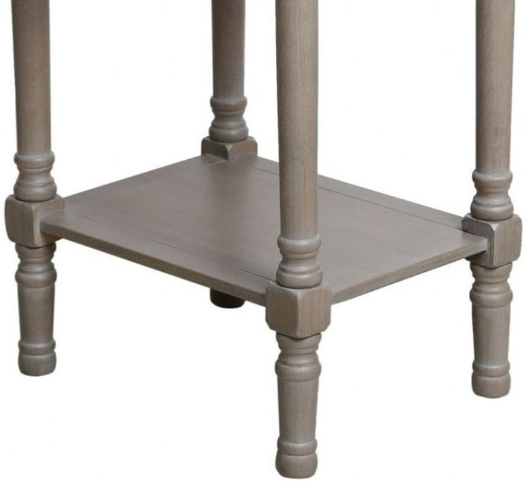 Serra Taupe Telephone Table