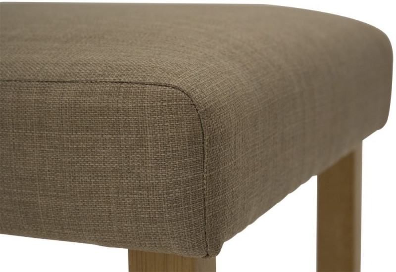 Vida Living Evelyn Beige Linen Fabric Bar Chair (Pair)