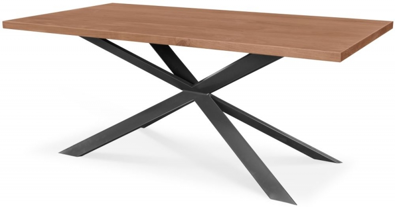 Clemence Richard Palermo Solid Walnut Extending Dining Table