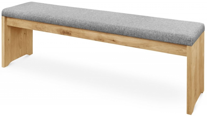 Clemence Richard Palermo Oak Bench
