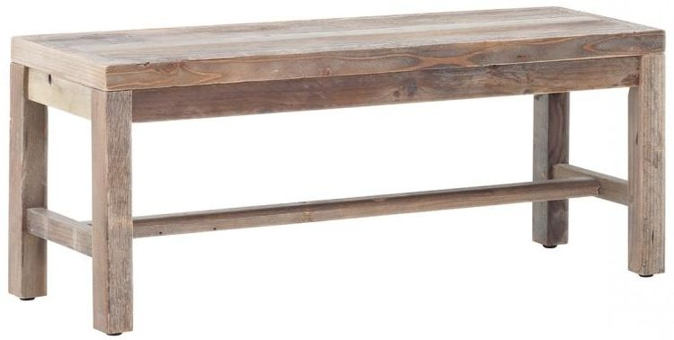 Buy reclaimed wood small bench online cfs uk for Buy reclaimed wood online