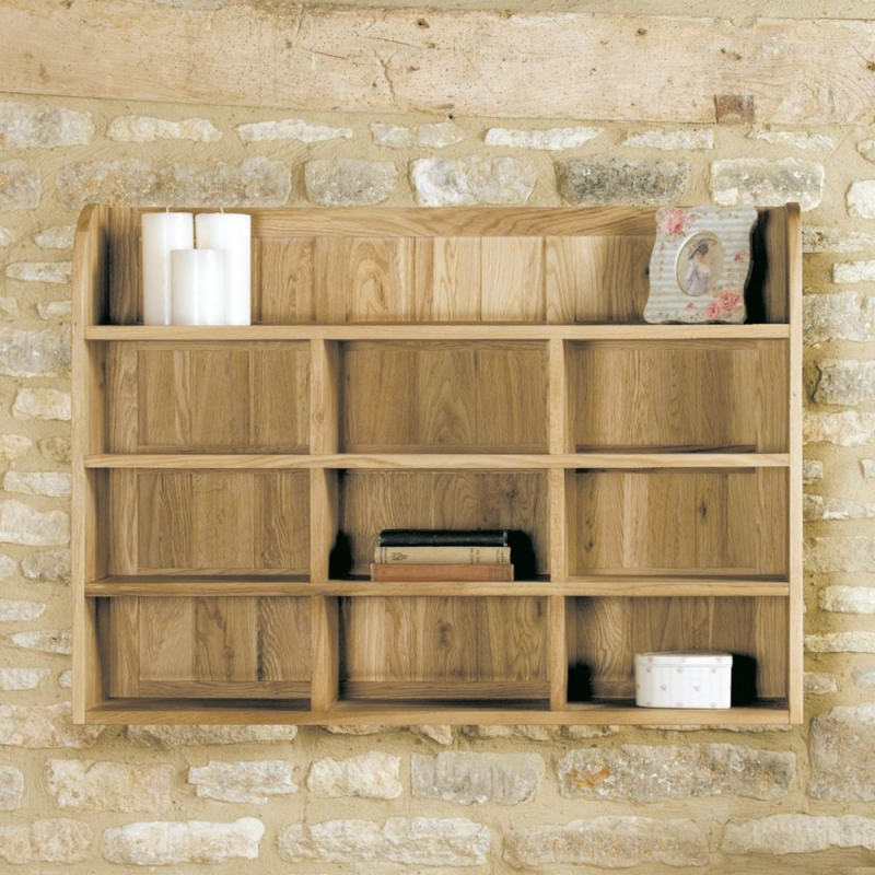 Baumhaus Mobel Oak Wall Rack