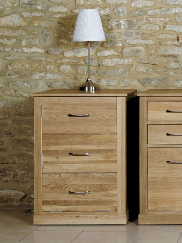 Baumhaus Mobel Oak Printer Cupboard