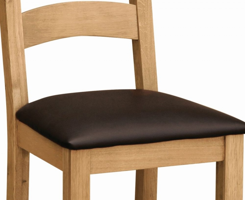 Global Home Cork Lite Oak Dining Chair (Pair)