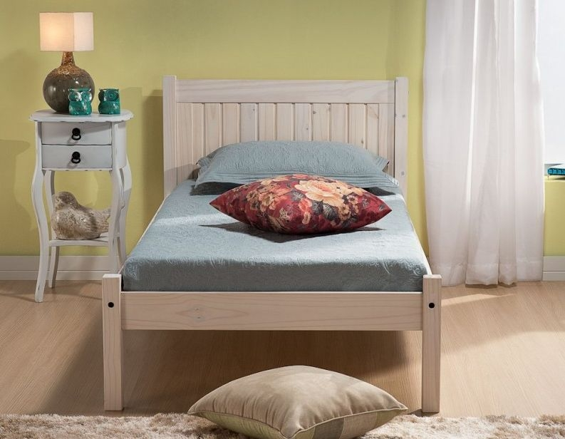 Birlea Rio White Washed Painted Bed