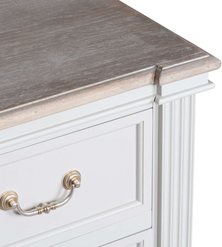 Hill Interiors Liberty White Painted 7 Drawer Chest