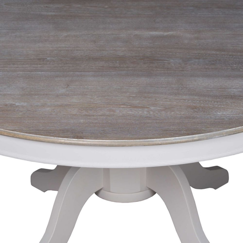 Hill Interiors Liberty White Painted Round Dining Table