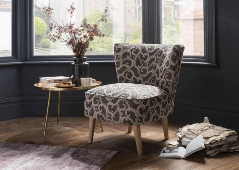 Malmesbury Accent Chair - Plume Grey Fabric
