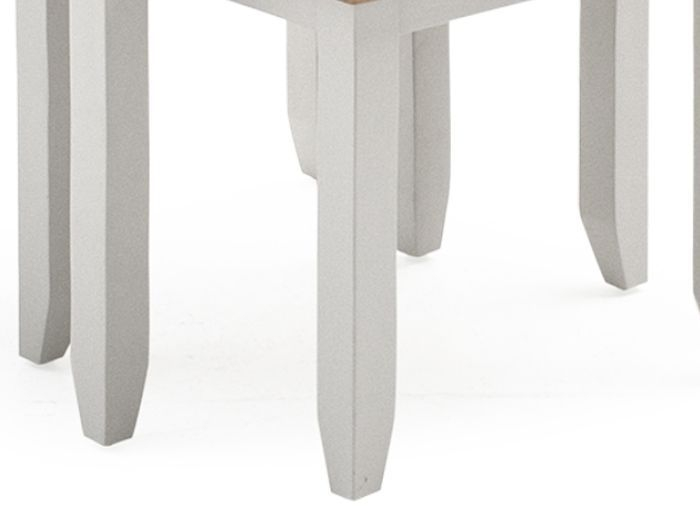 Vida Living Ferndale Grey Painted Nest of 2 Tables