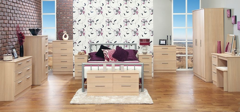 Contrast Elm 5 Drawer Chest