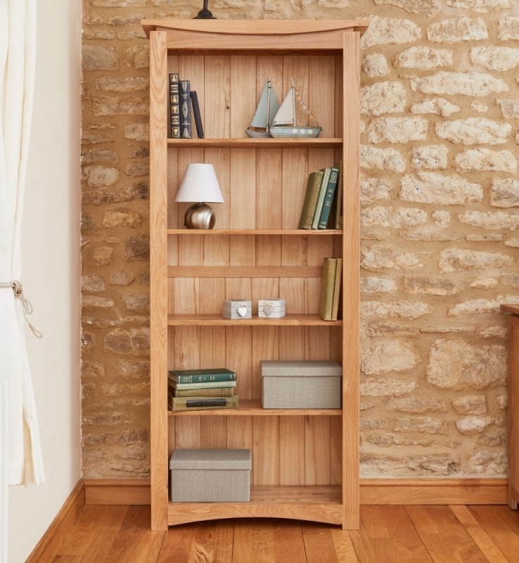 Baumhaus Roscoe Oak Large Bookcase