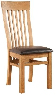 Devonshire Clovelly Oak Rectangular Extending Dining Set with 6 Curved Back Chairs - 180cm-260cm