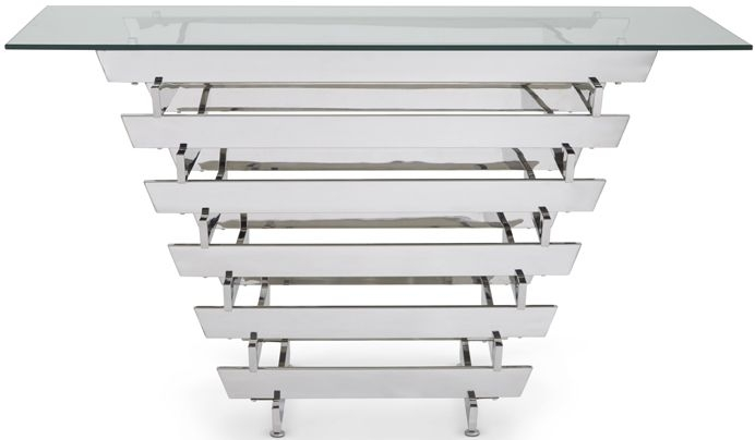 Serene Nova Glass Console Table
